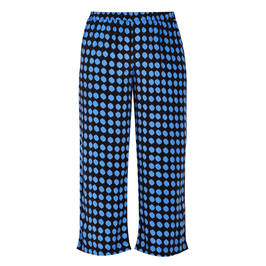 PERSONA BY MARINA RINALDI PULL ON TROUSER BLUE  - Plus Size Collection