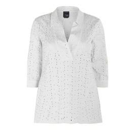 PERSONA BY MARINA RINALDI TUNIC WHITE  - Plus Size Collection