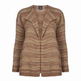 PERSONA BY MARINA RINALDI CARDIGAN GOLD - Plus Size Collection