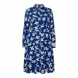 PERSONA BY MARINA RINALDI ORCHID PRINT SHIRT DRESS - Plus Size Collection