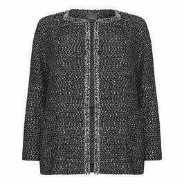 PERSONA BY MARINA RINALDI SEQUIN JACKET - Plus Size Collection