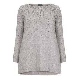 PERSONA BY MARINA RINALDI WOOL AND CASHMERE KNITTED TUNIC - Plus Size Collection