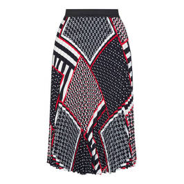 PERSONA BY MARINA RINALDI SCARF PRINT SKIRT - Plus Size Collection