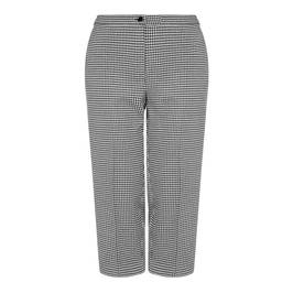PERSONA BY MARINA RINALDI HOUNDSTOOTH TROUSERS - Plus Size Collection