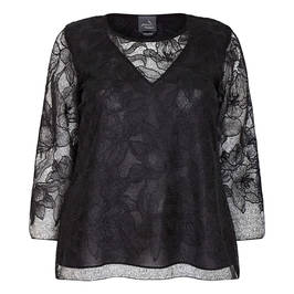 PERSONA BY MARINA RINALDI LACE TUNIC  - Plus Size Collection