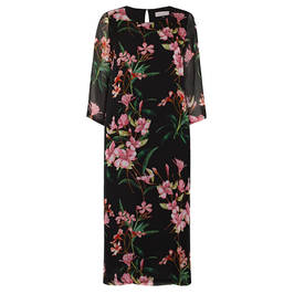 PIERO MORETTI FLORAL PRINT DRESS - Plus Size Collection