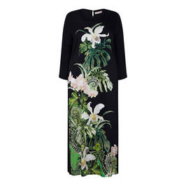 PIERO MORETTI TROPICAL PRINT DRESS - Plus Size Collection