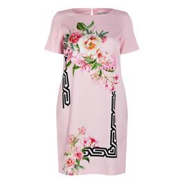 PIERO MORETTI ORIENTAL LILY PRINT DRESS - Plus Size Collection