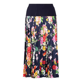 PIERO MORETTI FLORAL MIDI SKIRT - Plus Size Collection