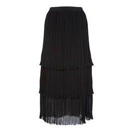 PIERO MORETTI LAYERED CHIFFON MIDI SKIRT - Plus Size Collection