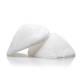 Beige Shoulder Pads - White