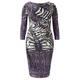 Murek Flatter Diamante Detail Dress