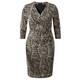 Murek Flatter Net Print Dress