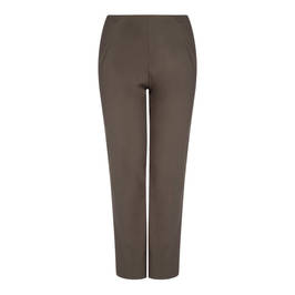 SALLIE SAHNE TECHNOSTRETCH TROUSERS OLIVE - Plus Size Collection