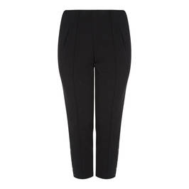 SALLIE SAHNE ANKLE GRAZER TROUSER BLACK - Plus Size Collection