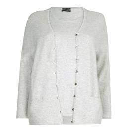 Sandra Portelli pure cashmere twinset - Plus Size Collection