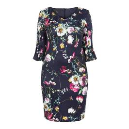 TIA FLORAL PRINT DRESS - Plus Size Collection