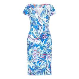 TIA BOTANICAL PRINT  DRESS - Plus Size Collection