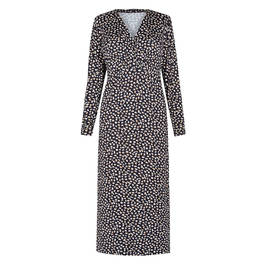 VERPASS ANIMAL PRINT JERSEY DRESS - Plus Size Collection