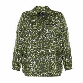 VERPASS PRINT SHIRT GREEN - Plus Size Collection