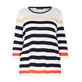 VERPASS STRIPE SWEATER - Plus Size Collection