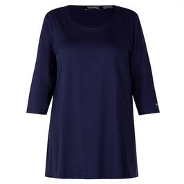 VERPASS JERSEY TUNIC NAVY - Plus Size Collection