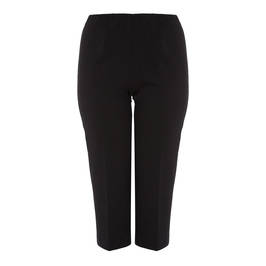 VERPASS PULL ON FRONT CREASE CULOTTE BLACK - Plus Size Collection