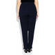 VERPASS NAVY NARROW LEG TROUSERS Winter weight