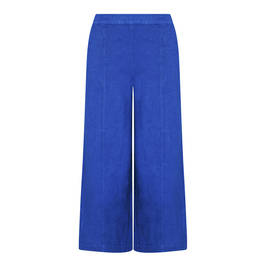 Vetono pull on linen trouser bluette - Plus Size Collection