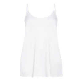 BEIGE CAMISOLE WHITE - Plus Size Collection