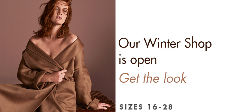 Our Winter Shop is open - Get the look