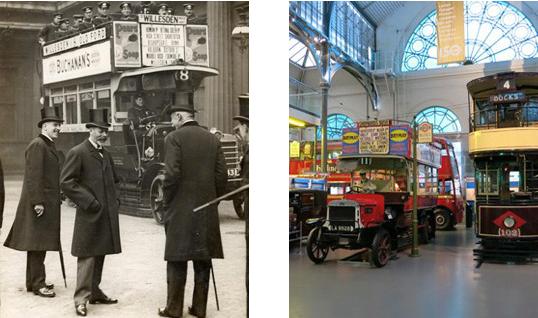 London Transport Museum near BEIGE