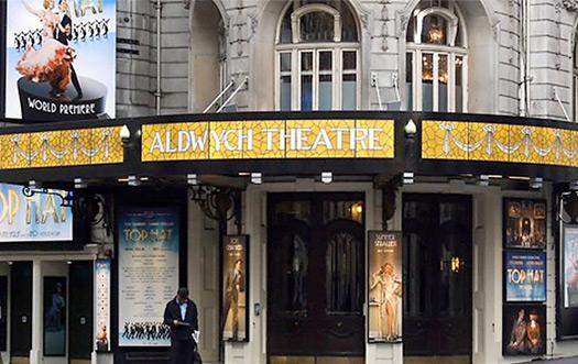 Aldwych Theater near BEIGE