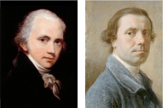 William Beechey and Allan Ramsay (Marylebone)