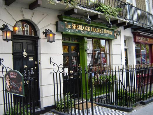 Sherlock Holmes House in Baker Street