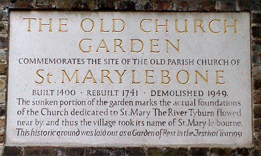 The Old Church Garden (Marylebone)