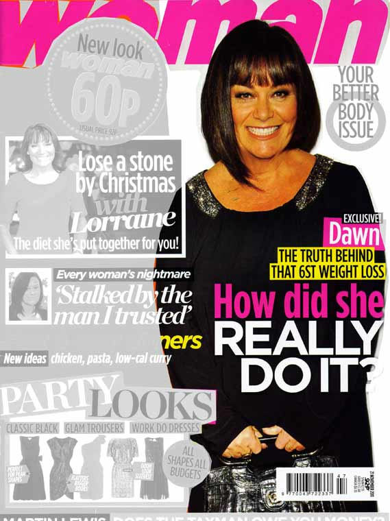 Woman magazine Dawn French