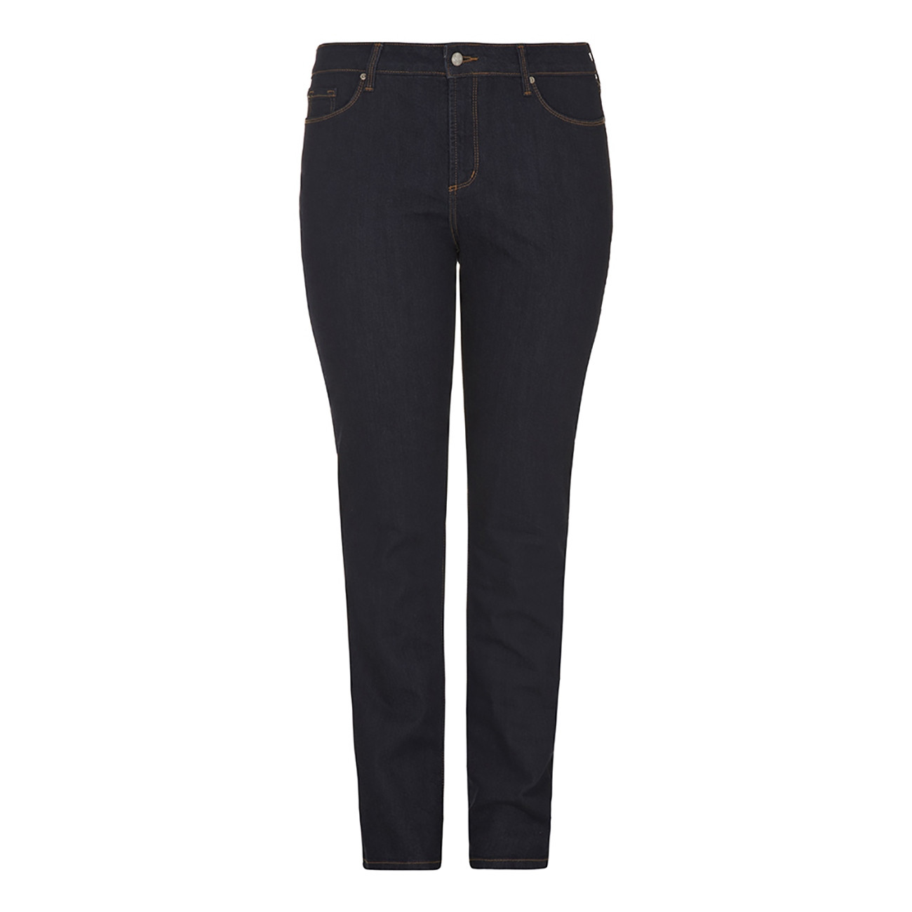 NYDJs Straight Leg Dark Denim Jeans