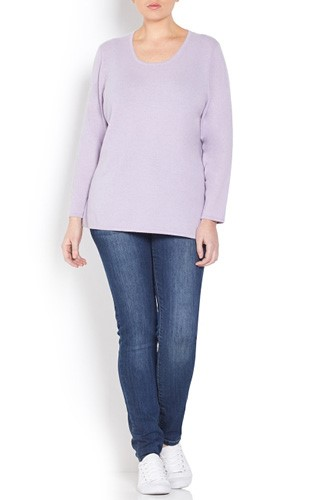 Lilac Cashmere Sweater
